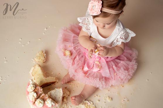 Cake Smash - Chilliwack Photographer
