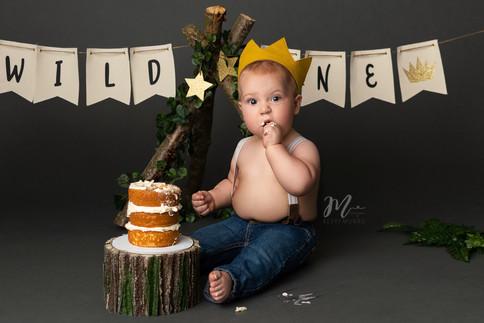 Cake Smash - Photographer in Chilliwack