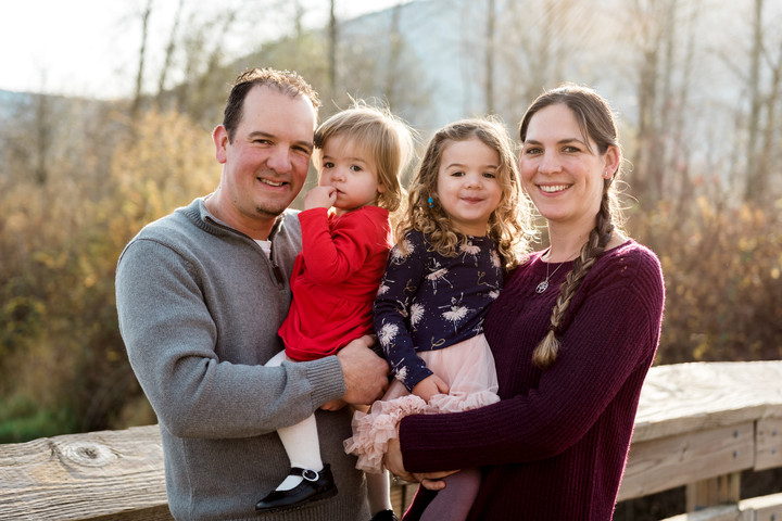 Family photos in Chilliwack, B.C.