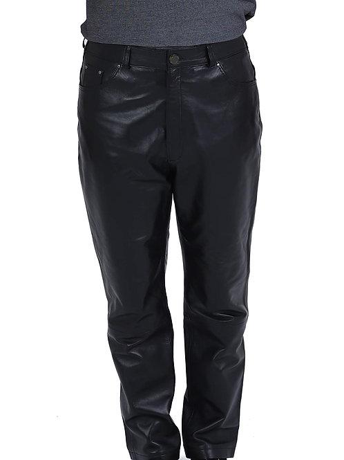кожаные брюки мужские