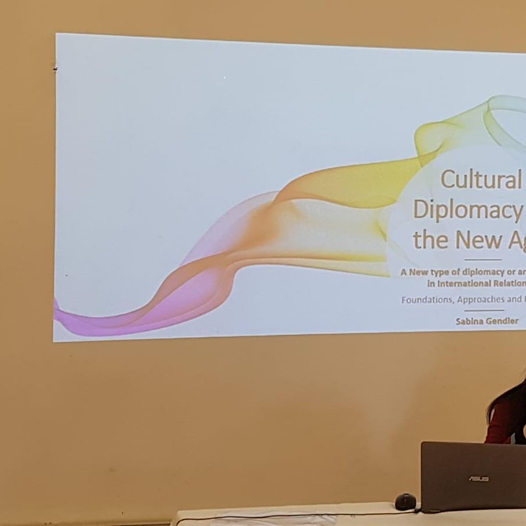 Cultural Diplomacy - what does it mean? (@ University of Canterbury, NZ)