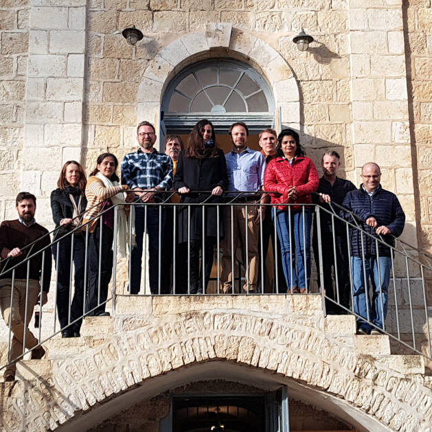 REACTIK Kick-off Meeting Jerusalem