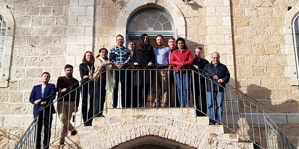 REACTIK Kick-off Meeting Jerusalem