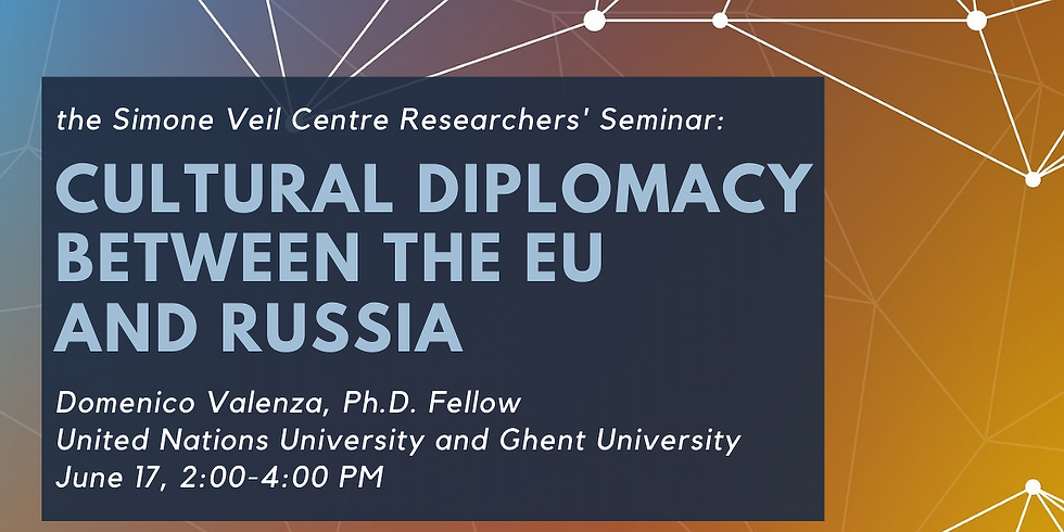Cultural Diplomacy Between the EU and Russia