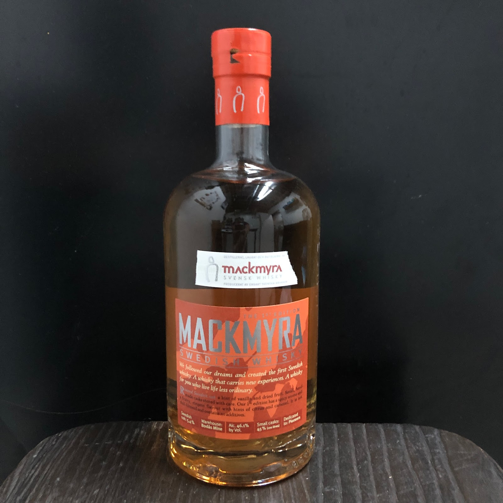 DEC 20: Mackmyra Swedish Whisky