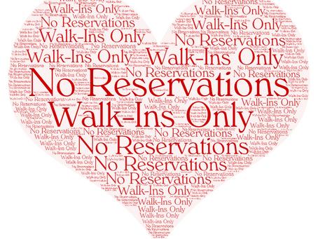 We no longer accept standard reservations