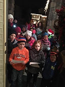 I had a great time Christmas caroling wi