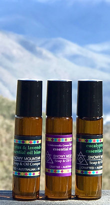 Roll On Essential Oil Blends