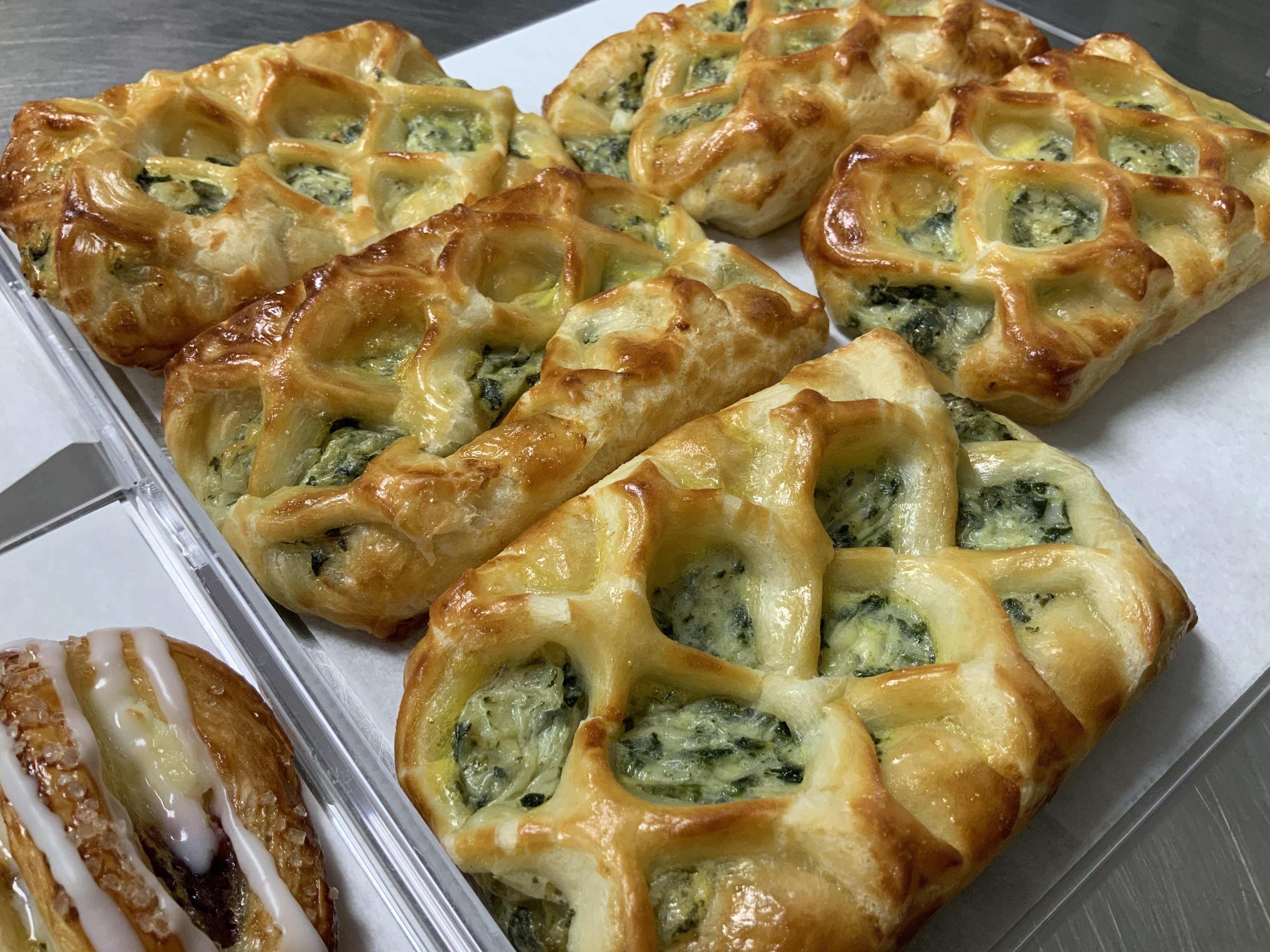 Edible Art Spinach & Feta Braids