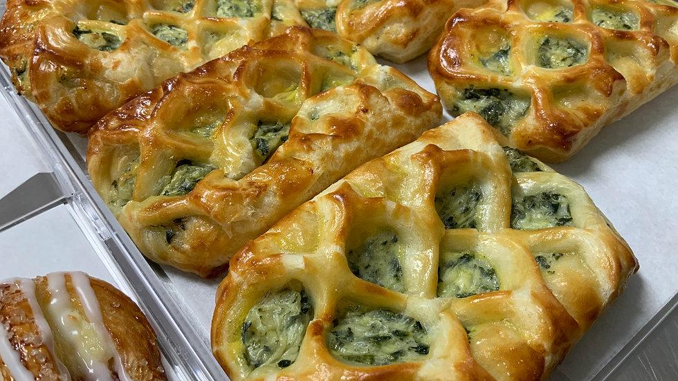Spinach Feta Cheese Braids (6)