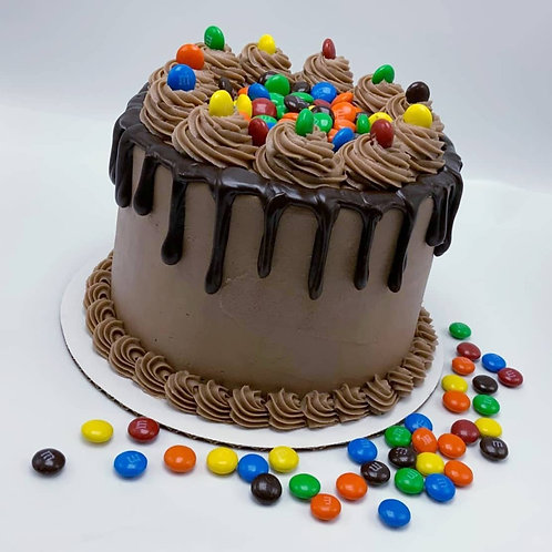 M&M Chocolate Tower