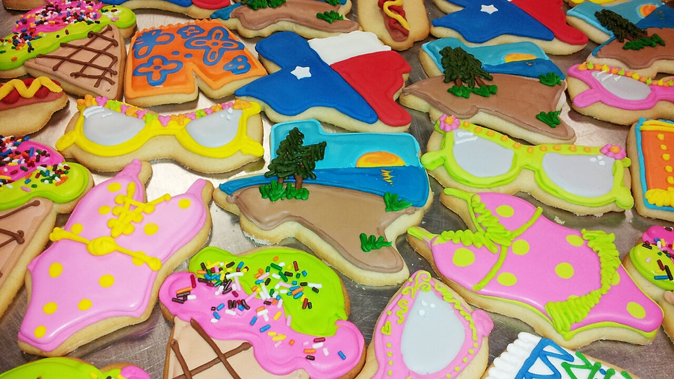 Divine Design Decorated Cookies (Variety of 6)