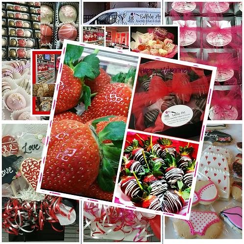One Dozen Chocolate-Dipped Strawberries