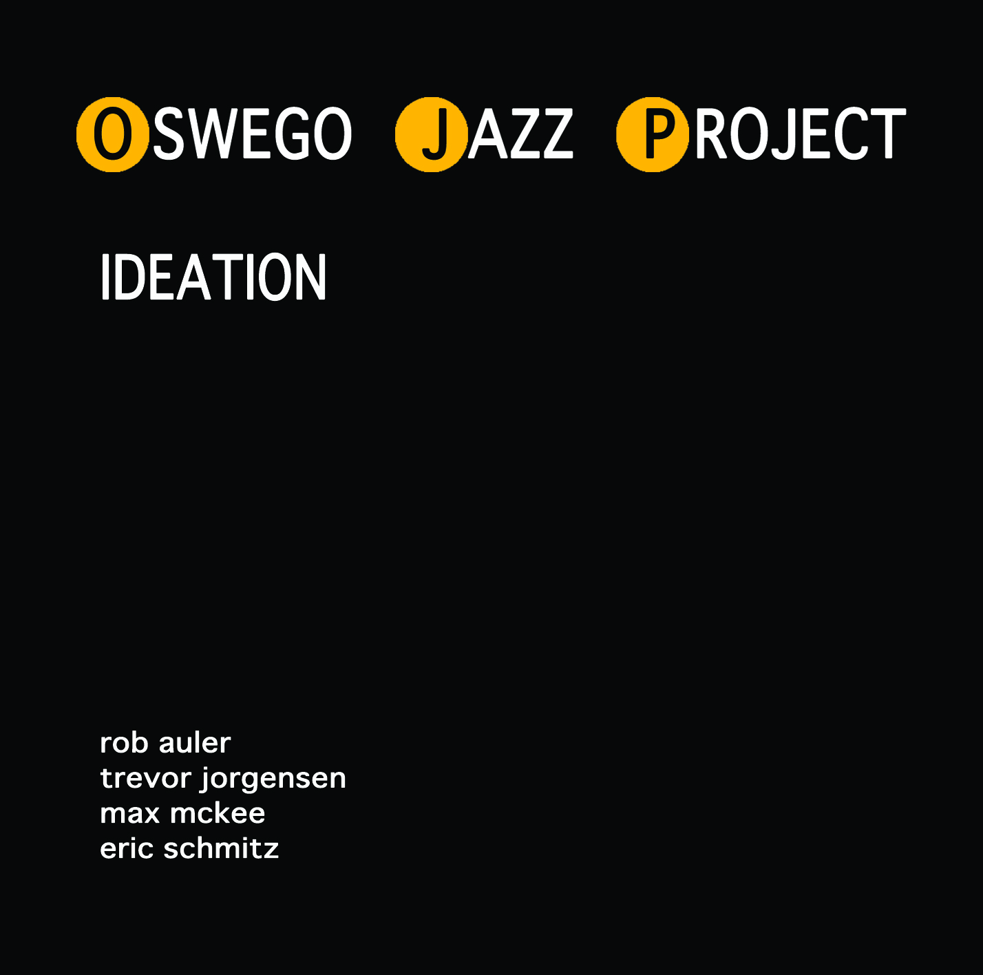 Oswego Jazz Project-Ideation