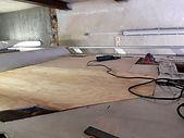 Fahrzeug Dachfläche Sanierung Feuchtscha