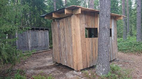Hygienstationen och dass