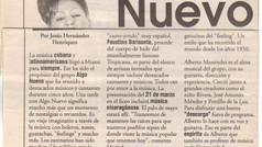 Algo Nuevo in Diarios Las Americas - 1998