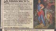 Algo Nuevo in El Nuevo Herald - 1999