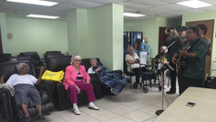 Algo Nuevo provides Music Therapy for the elderly - 2015