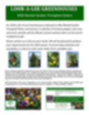 market garden transplant 2020 program.jp