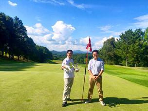 ゴルフ場空撮の方法