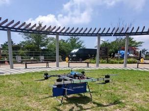 六甲山ドローン配送実験が成功、日経新聞に掲載されました。