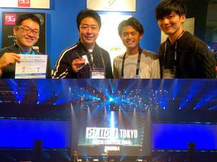 SLUSH TOKYO2019ブース、福岡市長がご訪問