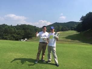 ゴルフ場空撮プロジェクト開始!