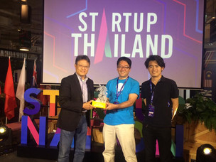 Startup Thailandで、ピッチ登壇!