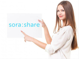 sora:share、グローバル(英語)対応へ!