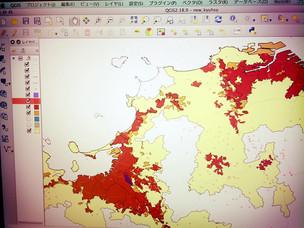 GISとPythonでドローンソリューション