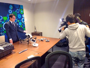 FBSテレビ取材を受けました