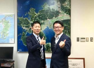 NEXCO西日本佐賀所長を訪問しました。