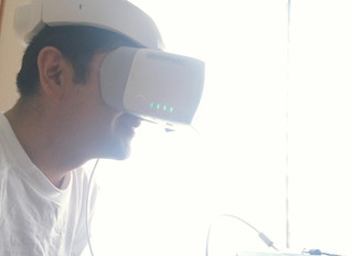 VRによるドローンシミュレーター訓練