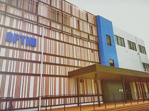 佐賀大学内のOPTiM見学へ