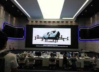 代表が中国広州のドローンスタートアップ・EHANGを視察しました。