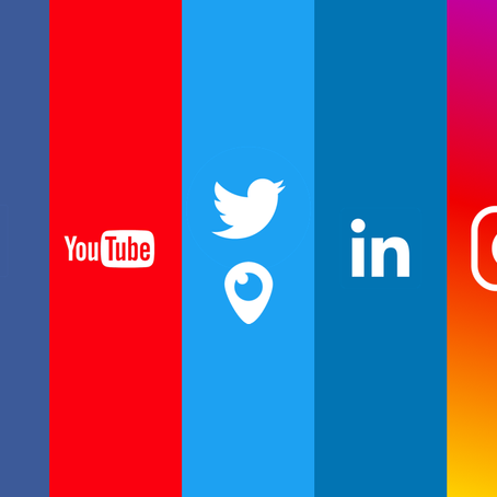 Picking the right social media platform for advertising.