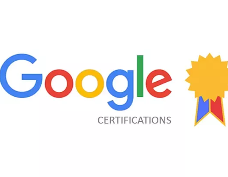 Our Digital Advertising Team is Google Certified!
