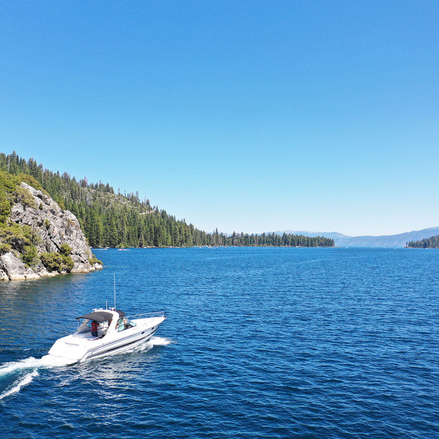 Explore Fanette Island on or off the boat.