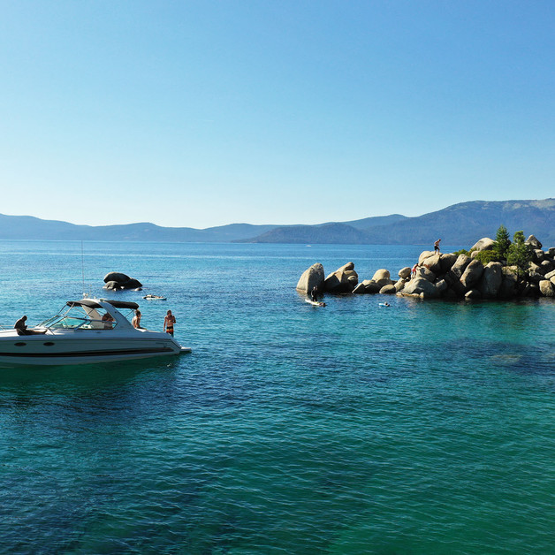 The easiest way to access Sand Harbor.