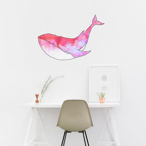 Wall art - Whale Sticker #6