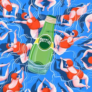 Perrier Winning Price Illustration