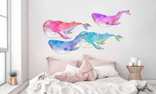 Mural stickers