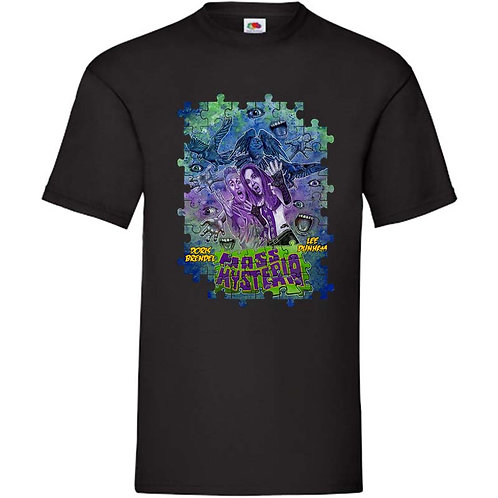 Mass Hysteria DESIGN 4 Fruit of the Loom T-Shirts