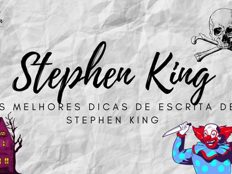 As 21 Melhores Dicas Simples de Stephen King Para Escrever