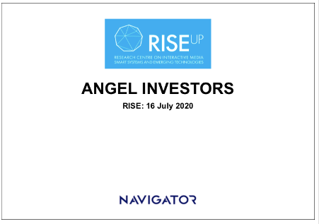 Angel Investments in Start-ups: Training at RISE Nicosia