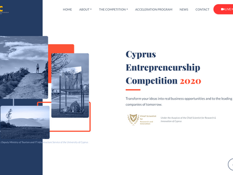 Three start-ups win the Cyprus Entrepreneurship Competition