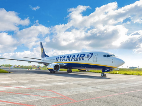 Ryanair announces three new Bases in Greece