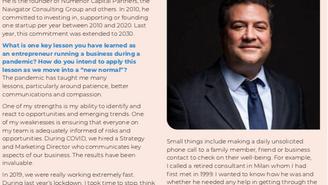 2021 Global Entrepreneurship Report released; Philip Ammerman Profile