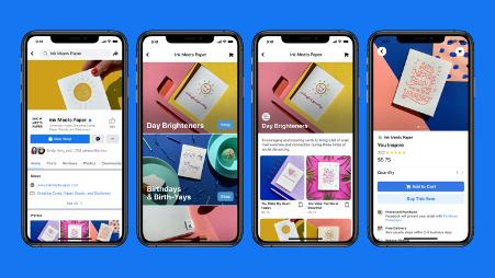 Facebook launches Facebook Shops
